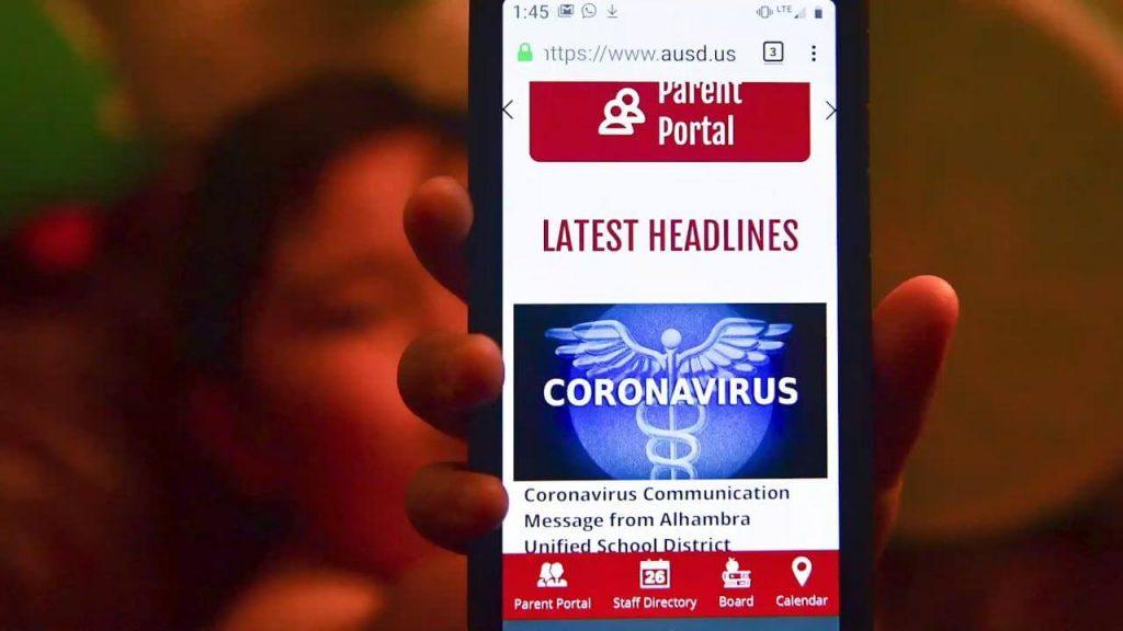 Coronavirus news portal